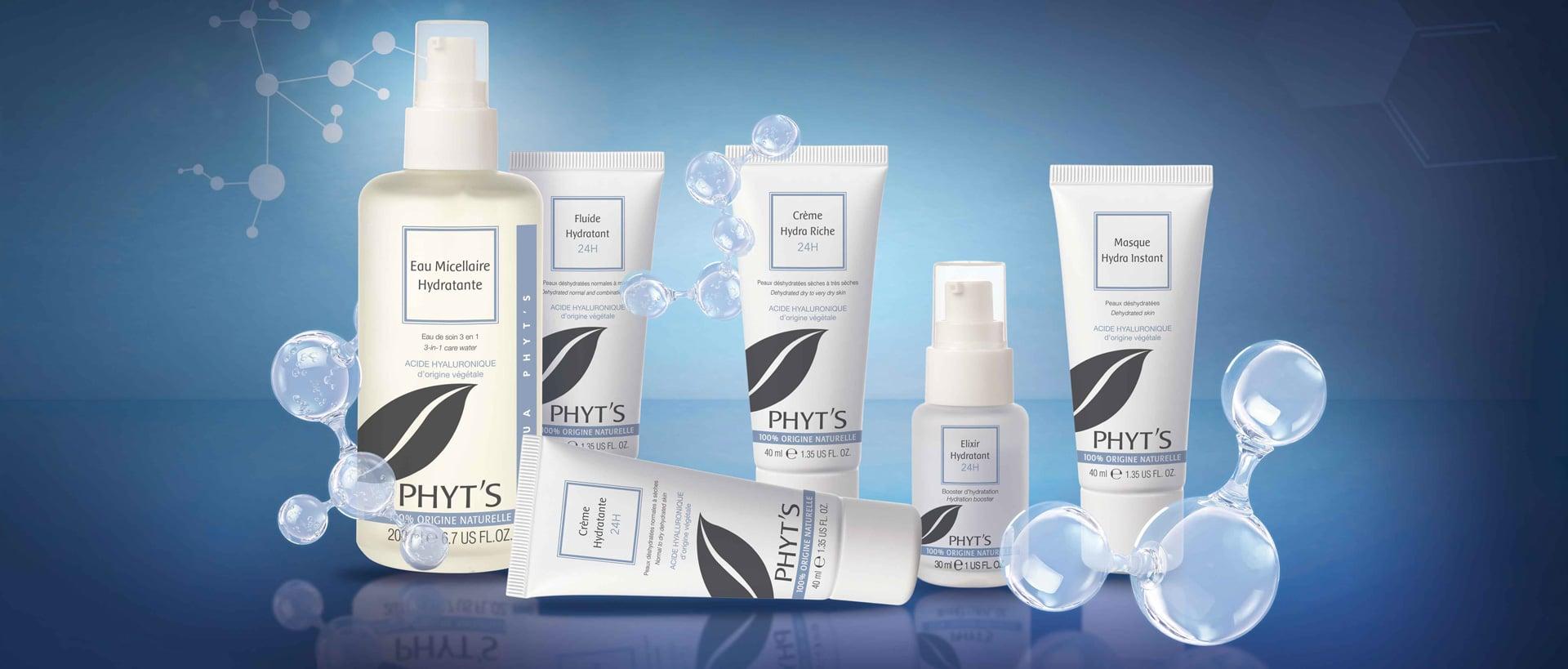 Gamme hydrantante bio Aqua par Phyt's