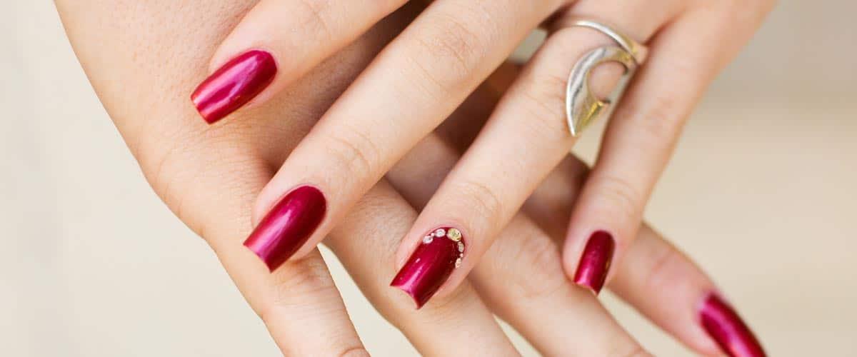 Prestation beauté des mains pose d'ongles résines - Citron Vert